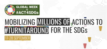 Global Week to #Act4SDGs