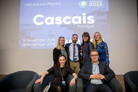 Inspiring debates at the YRN Autumn Plenary in Cascais 2018!