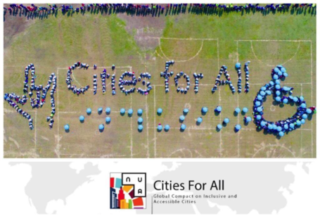 Mayors from Around the World Celebrated the International Day of Persons with Disabilities by Launching the Cities for All Campaign and the Global Compact on Inclusive and Accessible Cities