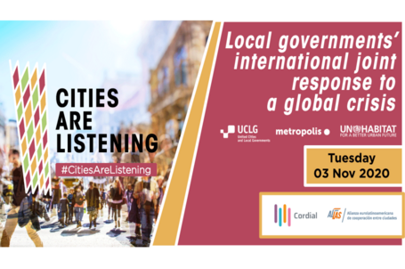 #CitiesAreListening: Local governments' international joint response to a global crisis