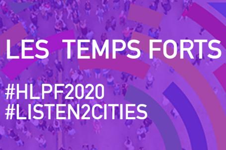 Une reprise durable ne verra le jour qu'avec la participation de tous : notre participation au FPHN 2020