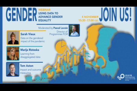 CIB webinar on using data to advance gender equality