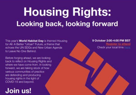 Housing Rights: Looking back, looking forward