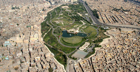 La ville du Caire en Egypte rénove le quartier 'el darb el ahmar'