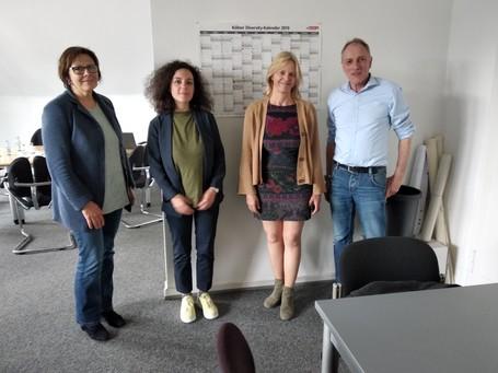 CGLU visite le département Diversité et Intégration de la Ville de Cologne