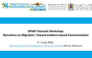 GFMD Thematic Workshop:  Narratives on Migration: Toward evidence-based Communication