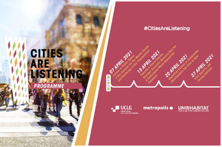 CitiesAreListening -  Upgrading Culture in Sustainable Development: The Time is Now