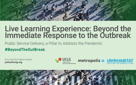 #BeyondTheOutbreak: A Live Learning Experience on the value of public services provision in response to crises