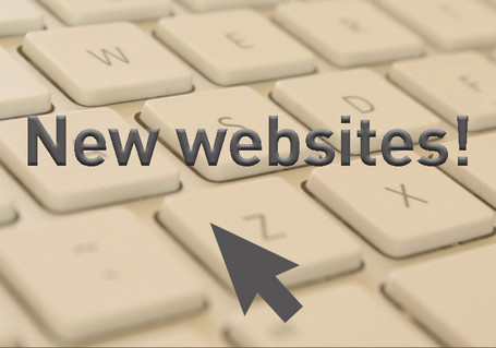 New websites