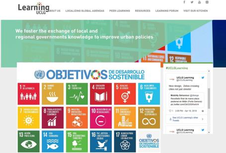 ¡Se lanzó el nuevo sitio web de CGLU aprendizaje!