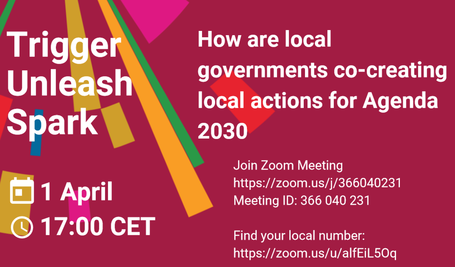 How are local governments co-creating local actions for Agenda 2030