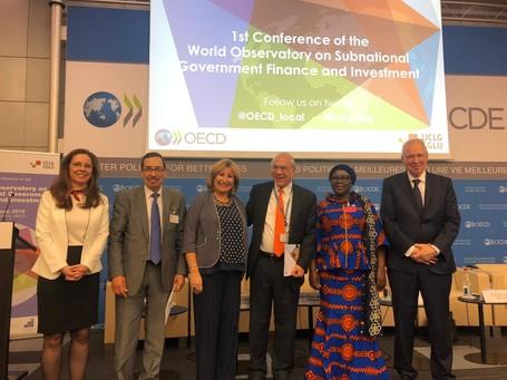 Lancement de l'Observatoire mondial des finances et des investissements des collectivités territoriales