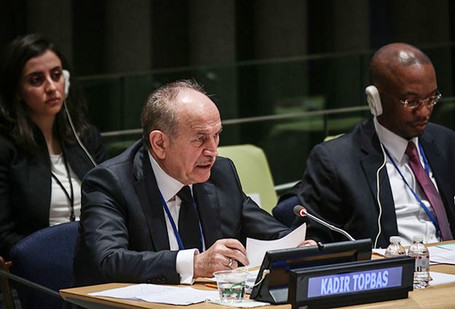 Kadir Topbaş, Mayor of Istanbul and President of UCLG