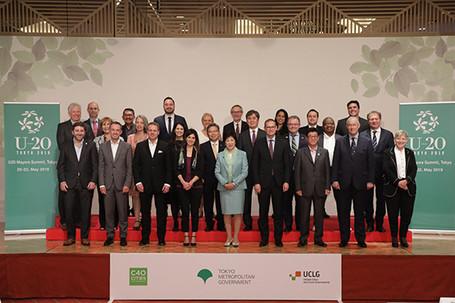 Urban 20 se reune en Tokio y los Alcaldes presentan las opiniones de las ciudades al G20