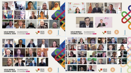 Local and regional governments address the key elements for a green recovery that leaves no-one and no place behind at the UCLG World Council.