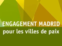 Engagement de Madrid pour les villes de paix