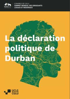 La déclaration politque de Durban