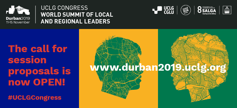 Sessions proposals open UCLG CONGRESS 2019