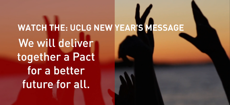 UCLG NEW YEAR'S MESSAGE