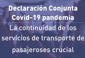 CGLU se une al llamado global sobre la importancia de la continuidad del transporte público durante y más allá de la crisis