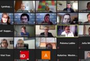 Galería de todos los y las participantes en zoom
