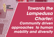 Cities Are Listening - Towards the Lampedusa Charter