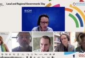 Los gobiernos locales y regionales abordan las  migraciones en el HLPF 2021