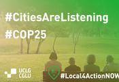 Las ciudades buscan inspirar una nueva era de acción climática en la COP 25 de Madrid.